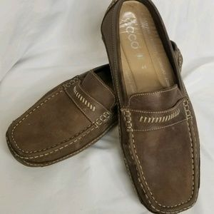 ECCO Mens Classic Driving Loafers Size US 10.5